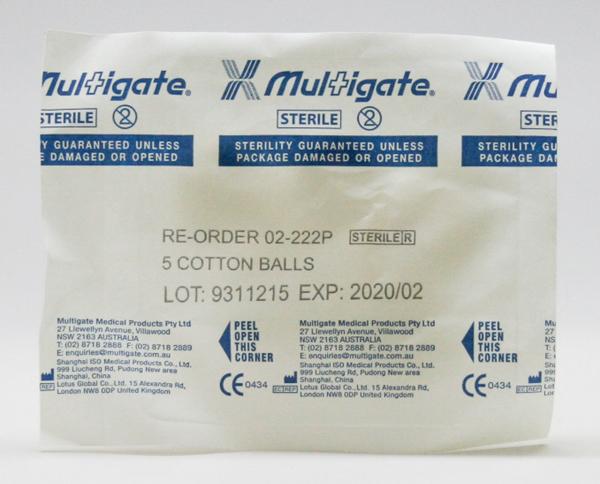 Picture of Cotton Balls Multigate 02-222P Bag of 5