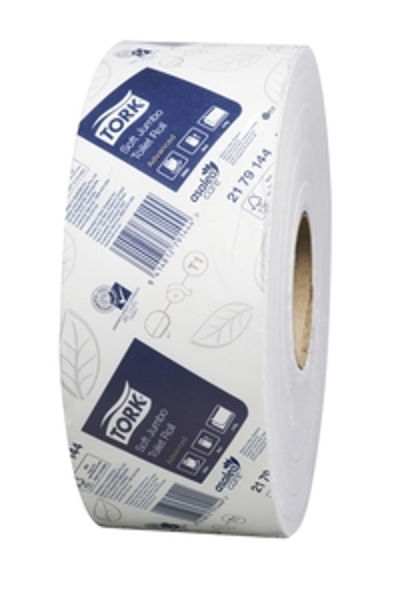 Picture of Toilet Roll Jumbo Tork 2179144 2-Ply 320m 6s